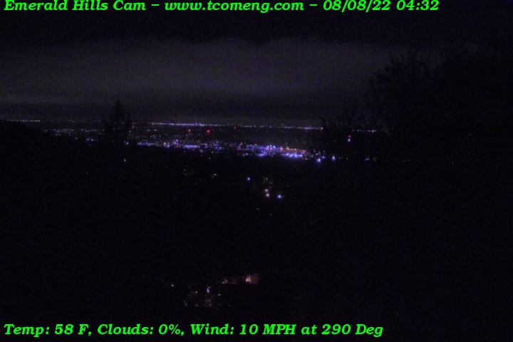 Emerald Hills Weather Cam